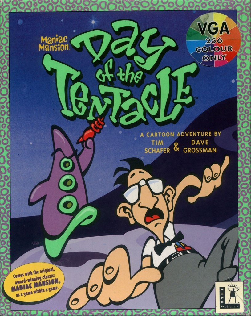 THE DAY OF THE TENTACLE - PC - Imagen 360418