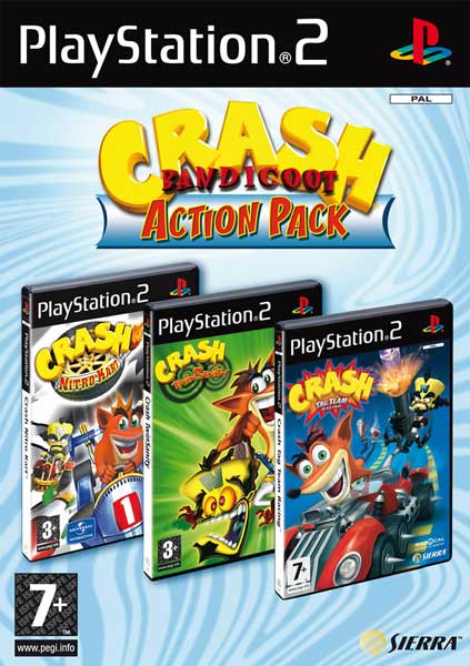 CRASH BANDICOOT ACTION PACK - PS2 - Imagen 190876