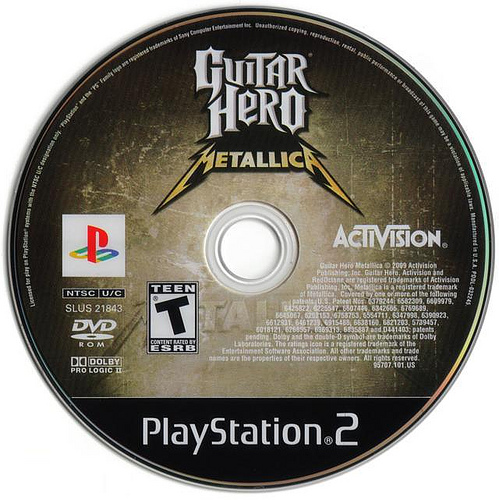Guitar Hero Metallica USA PS2DVD9-PROTOCOL( Info)