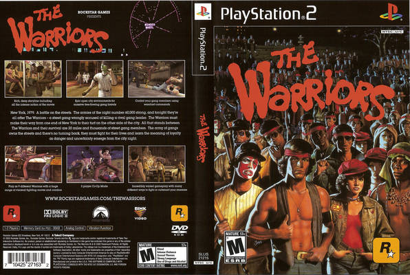 The Warriors Ps2 Game ...