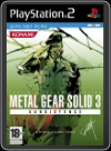 PS2 - METAL GEAR SOLID 3: SUBSISTENCE