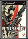 PS2 - METAL GEAR SOLID 2 SONS OF LIBERTY
