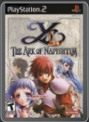PS2 - YS - THE ARK OF NAPISHTIM